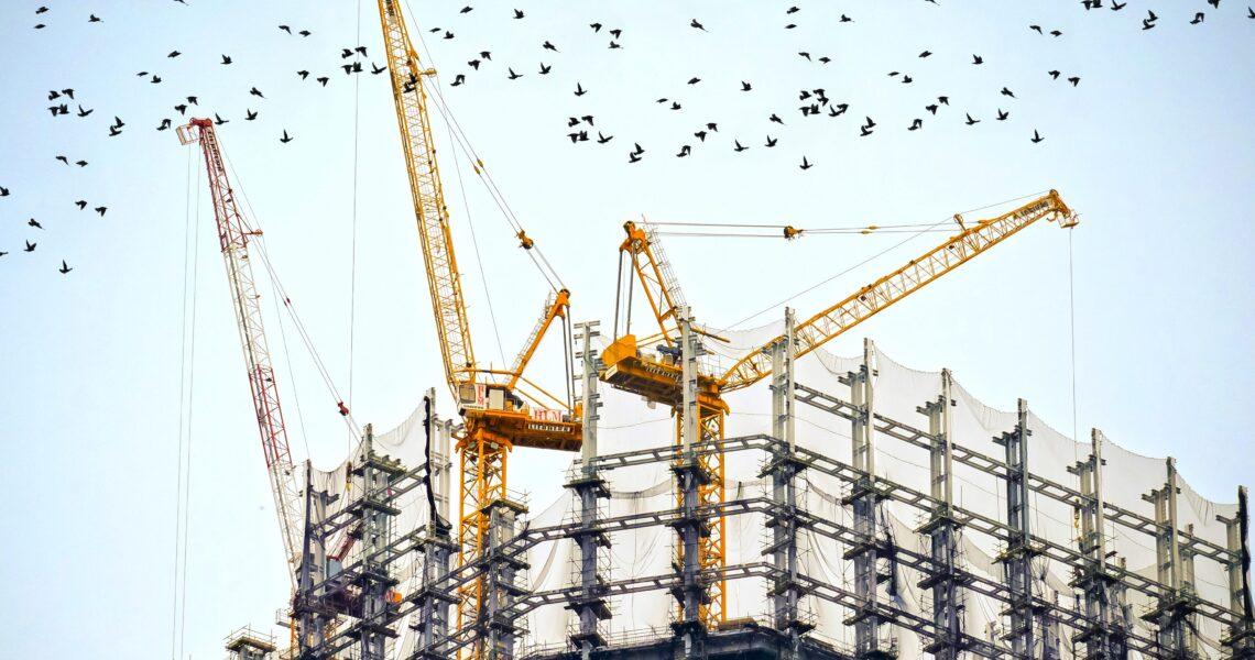 Construction, industrial, construction management, Evolution5, Hampshire, London