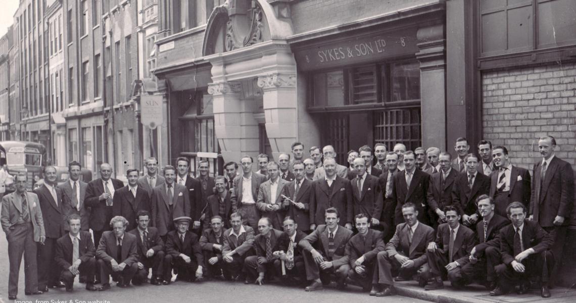 Sykes & Son historic image